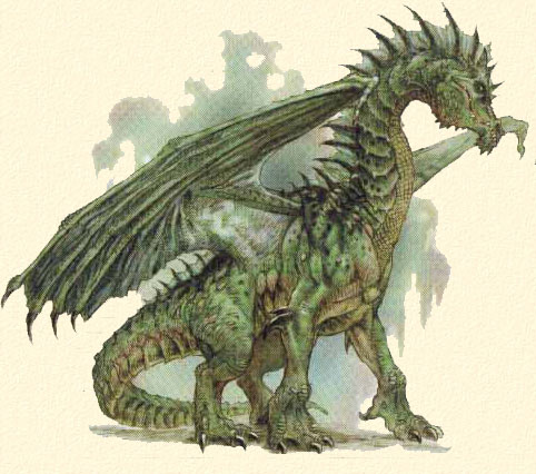 Dragon vert _dragonvert